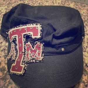 Low Profile Bling Texas A&M Aggies Black Hat